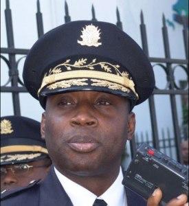 Mario Andresol,un officier de police qui aurait reçu des menaces de mort  sérieuses,en provenance du crime organisé,en Haiti.