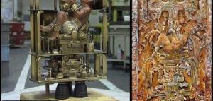 L'homme de Palenque serait un visiteur des Étoiles:un dieu!