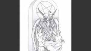 Satan,un projet de monument  privé.