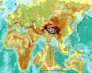La Terre  suivant la thèse du Modèle Kumari...à l'origine de l'évolution humaine.