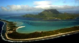 De nombreuses îles du Pacifique peuvent facilement constater de visu,l'augmentation du niveau des eaux.
