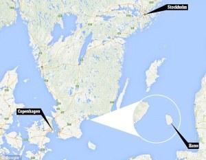 Le site de Hanö se trouve au sud de la Suède.