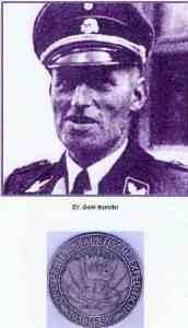 Hans Kammler,le commandant du U-574 était un officier lors de l'Expédition Antartique Allemande de 1938-39.