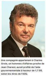 Charles Sirois ,ce qu'on appelle un dangereux criminel en collet blanc.