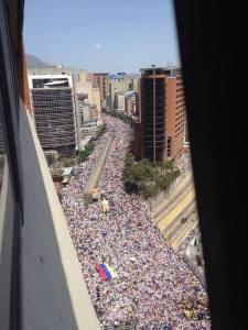 La manifestation de Madrid du 22 mars 2014