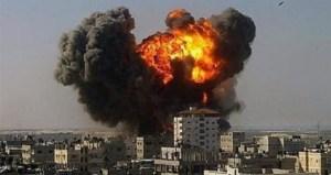 Une terrible explosion à Alep,en 2013.