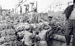 Les travailleurs dans les bananeraies contrôlées par les  compagnies capitalistes américaines étaient en état de survie.