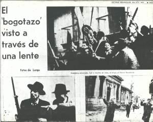 Page d'un journal de 1973 commémorant l'événement.
