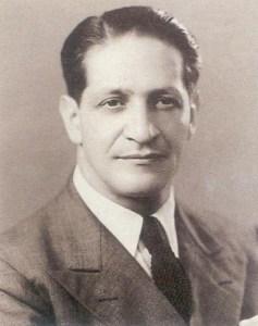 Photo de Jorge Eliecer Gaitan prise en 1936.