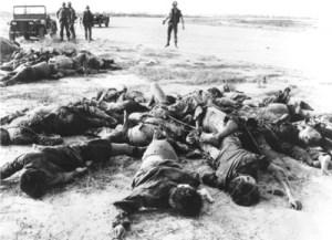 Le massacre de Sétif,en Algérie ...en 1945...par l'armée française.