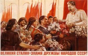 """Joseph Staline,celui qu'on appelait """"Le Petit Père des Peuples""""."""