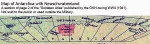 Carte de Neu Schwabenland.