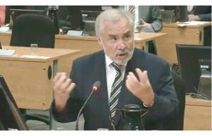 Pierre Bibeau,ce matin 10 juin 2014 ,devant la juge Charbonneau.