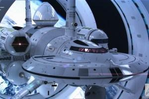 On le dirait sorti tout droit de Star Trek ...