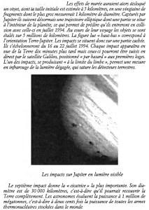 Impact comète Jupiter 22 au 26 juillet 1994 p2