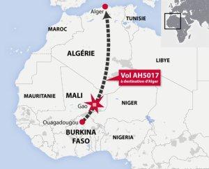 L'avion se serait écrasé au Nord du Mali.