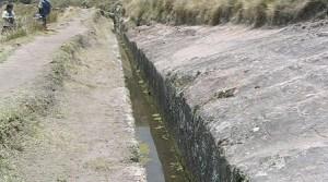 L'incroyable aqueduc de Cumbermayo ,à Nazca.