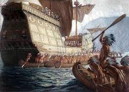 Tout a commencé par l'arrivée de Jacques Cartier ,en 1534.