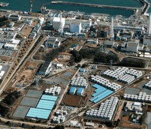 Autre vue aérienne de Fukushima Daiichi.