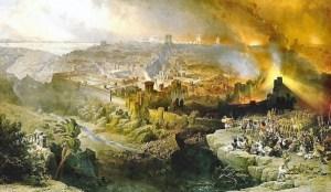 Destruction de Jérusalem ,en 70.
