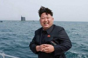 Kim  Jung Un ,un dictateur tout souriant.