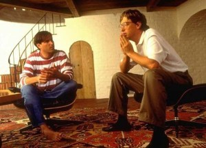 Steve Jobs et Bill Gates .