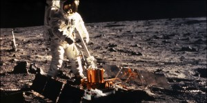 Conquête américaine de la Lune...un beau tournage!