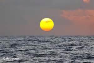 Notre soleil vu du centre des USA.