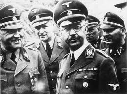 Heinrich Himmler à Malthusen,en 1941.