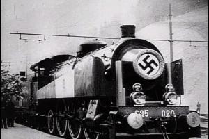 La photo originale du fameux train parti de Pologne.