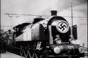 La photo originale du fameux train parti de Pologne.