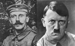 Presque 20 ans séparent ces 2 photos du Führer.