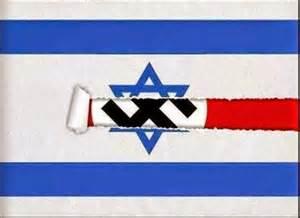drapeaux israel-nazi