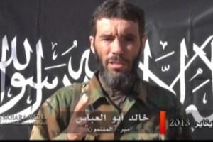 Le fondateur du groupe terroriste Al-Mourabitoune,allié à Al-Qaïda est le djihadiste algérien Mokhtar Belmokhtar et liée à Al Qaïda, qui a déjà joué un rôle dans plusieurs attaques contre des intérêts occidentaux dans la région du Sahel.