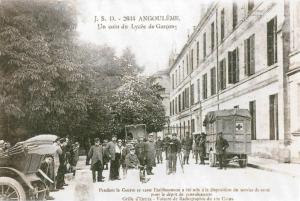 Carte postale  française Croix Rouge  française