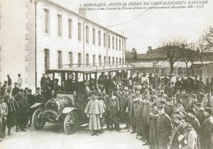 Carte postale  française  Hopital