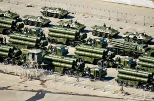 Un déploiement militaire sans précédent.