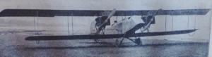 Première Guerre Mondiale-le premier biplan bimoteur de conception américaine.