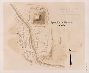 Carte du site d'Hawara
