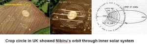 """Le crop cercle de décembre 2012 en Angleterre reproduit exactement l'arrivée du """"vaisseau"""" Nibiru dans notre système solaire."""