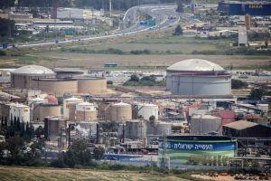 La raffinerie de Haifa,en Israel.