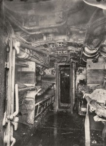 Quartier de l'équipage :salle du dortoir