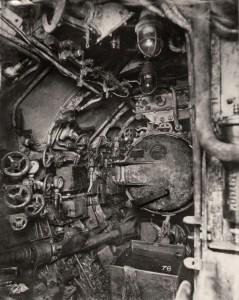 Entrée d'un tube lance torpilles.