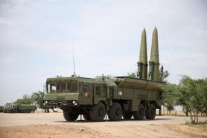 Bases mobiles de lancement russes qui peuvent  déployer des missiles Iskander...partout!