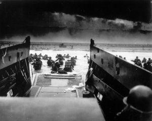 Le 6 juin 1944,c'est le Jour J:le débarquement en Normandie.