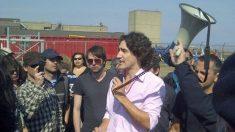 Justin Trudeau, en 2012, qui appuyait le combat des employés d'Aveos et leur promettait son appui.