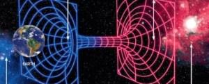 Les trous de vers permettraient de voyager entre les galaxies.