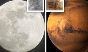 Grâce à Google Mars et Google Moon (les versions cosmiques de Google Earth), Marcelo Irazusta et son fils James ont découvert récemment que le nombre 58 était gravé sur la surface de la Lune et de Mars. Preuve ou non d'un signe d'intelligence extraterrestre, ces images ont fait l'objet de controverses. Mais personne ne peut nier la présence étrange du nombre 58 sur ces astres stellaires.