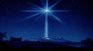 Représentation de l'étoile de Bethléhem.