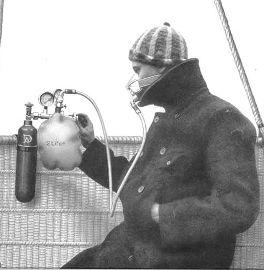 La première combinaison expérimentale en 1941.